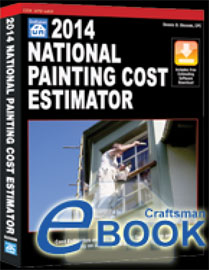 Review Of 2014 National Painting Cost Estimator W Cd Rom