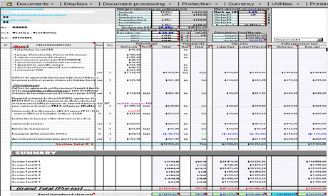 construction cost estimate detail sheet download