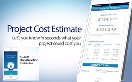 Download bmt construction cost calculator app for free for Construction cost calculator online free