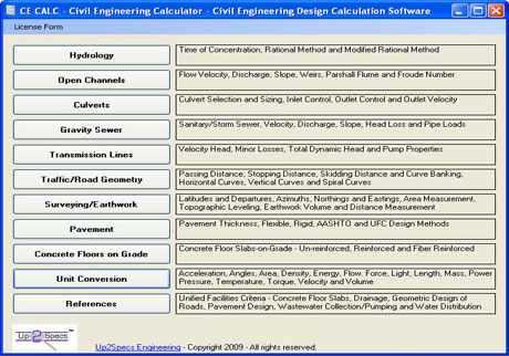 Download Ce Calc Civil Engineering Calculations And More