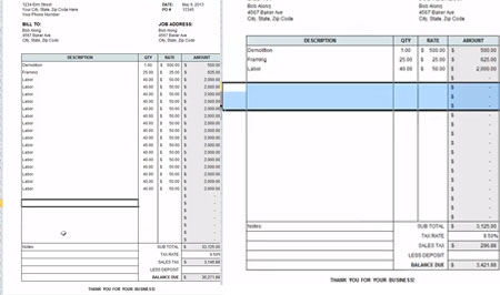 Download Construction Cost Estimate Template On Excel For Free
