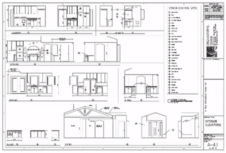 Learning how to read construction drawing 4 complete for How to read construction blueprints
