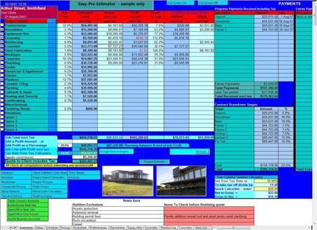 Download Easy Pro Builders Estimator Free