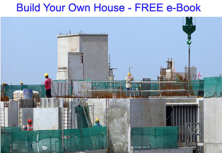 Learn how to build your own house download free ebook for Build your own house online