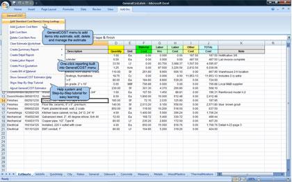 Download Generalcost Estimator For Excel