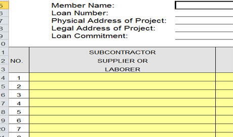 Download Residential Construction Budget Template Excel For Free