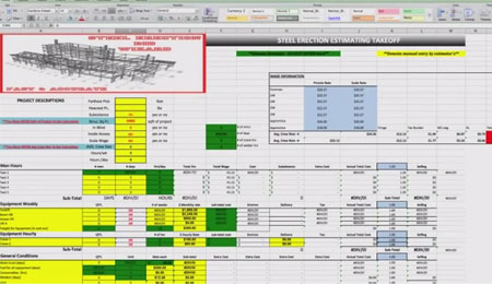 Steel Erection Bid Wizard Review Steel Estimating Software