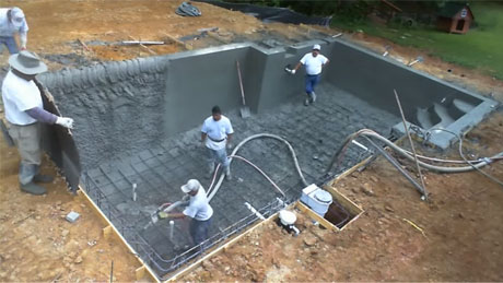 How to Build an Inground Swimming Pool, Swimming Pool Building Process