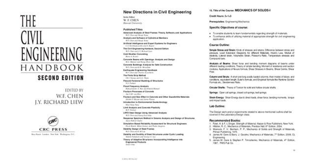 Civil Engineering Handbook Second Edition PDF eBook FREE Download