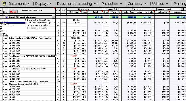 Cost breakdown template excel archives for Cost of new construction