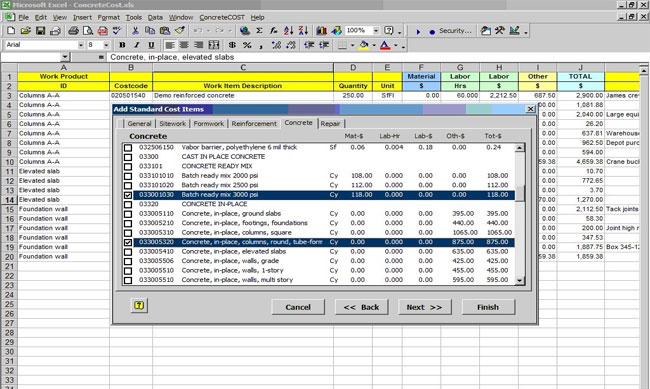 Introducing Concretecost Estimator Concrete Construction