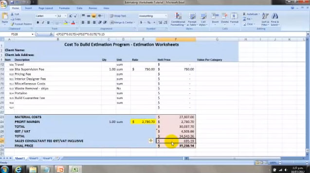 Download new construction cost calculator and estimating for Construction cost estimator online