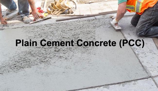Plain Cement Concrete Pouring : Cement concrete summary archives constructupdate