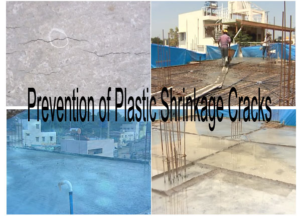 Prevention of Plastic Shrinkage Cracks