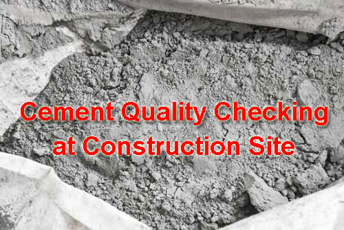 Cement Quality Checking