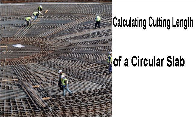 cutting length of a slab