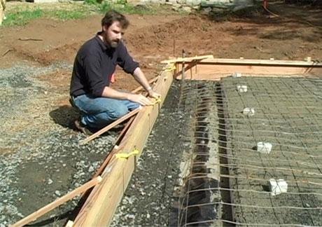 Rebar Grid for Concrete Slab - How to Build a Slab Foundation