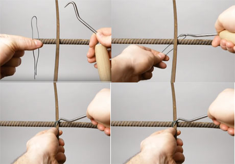 Tying A Reinforcing Steel Bar Learn How To Tie Rebar